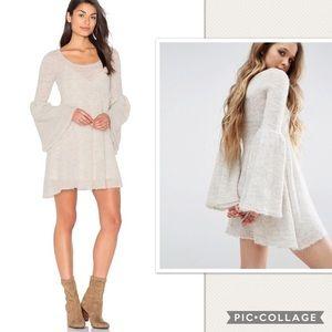 NWT Free People Juliet Babydoll Sweater Dress